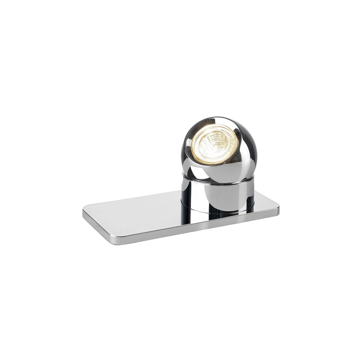 Sompex Tarly 87550 LED Tischleuchte, Chrom