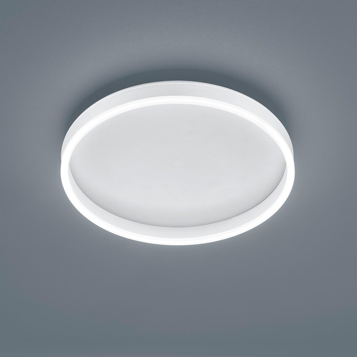 Helestra Sona Deckenleuchte, Ø: 40 cm, weiß matt