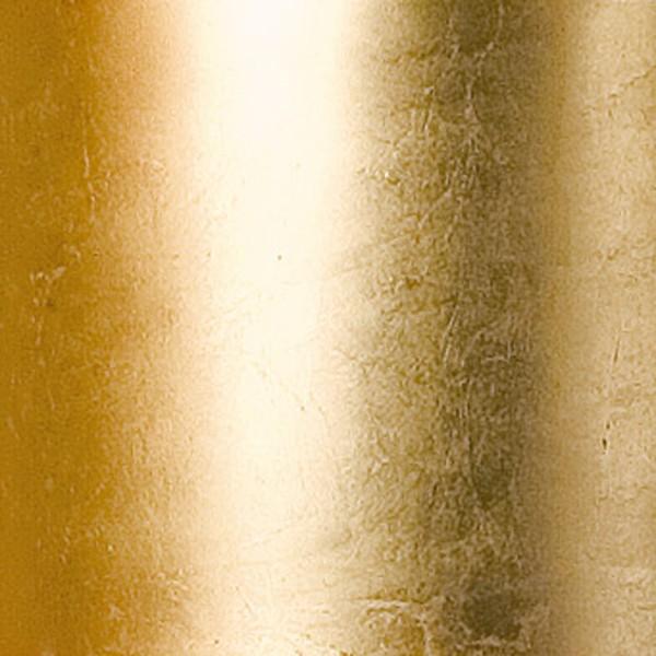 Vibia Funnel Mini LED Wand- / Deckenleuchte, Ø: 22 cm, Blattgold matt