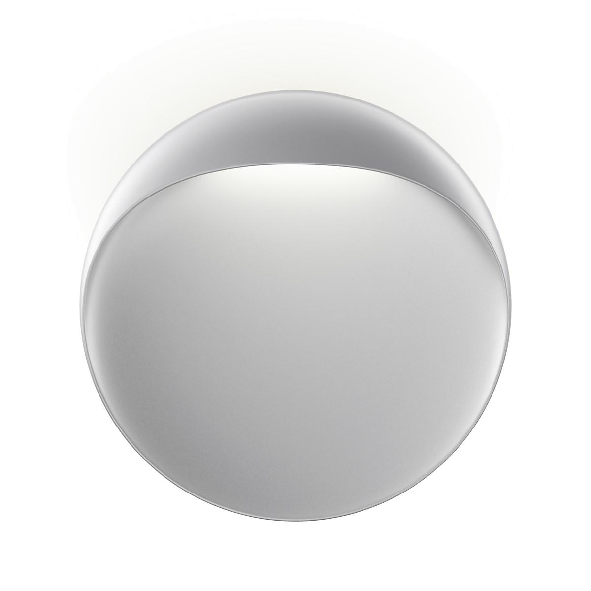 Louis Poulsen Flindt LED Wandleuchte, Ø: 40 cm, 2700 K, aluminiumfarben