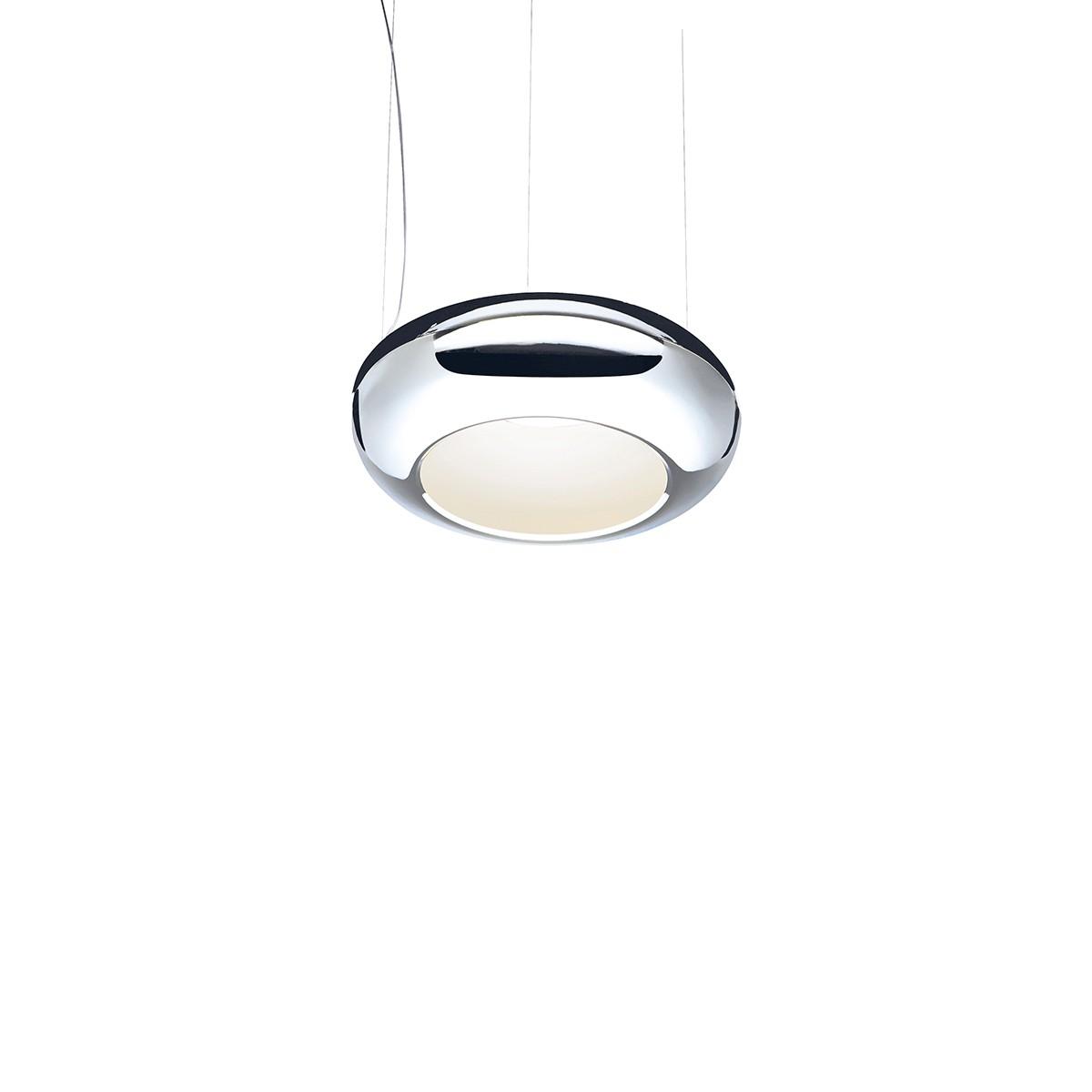 Sompex Aura 01 LED Pendelleuchte, Ø: 25 cm, Chrom