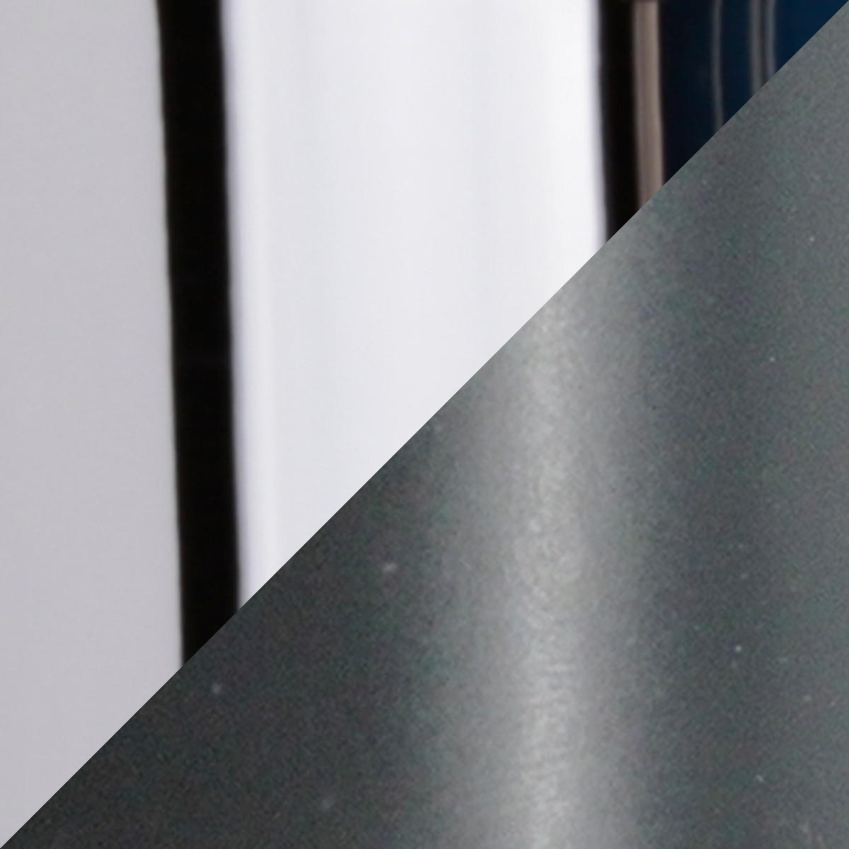 Top Light Puk Spot LED Tischstrahler, anthrazitgrau / Chrom