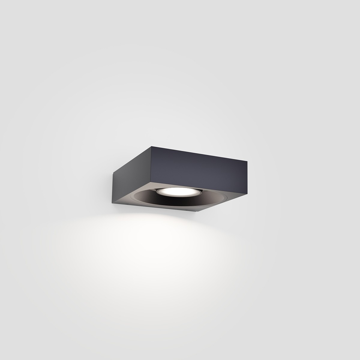 IP44.de Pip LED Außenwandleuchte, deep black (schwarz)