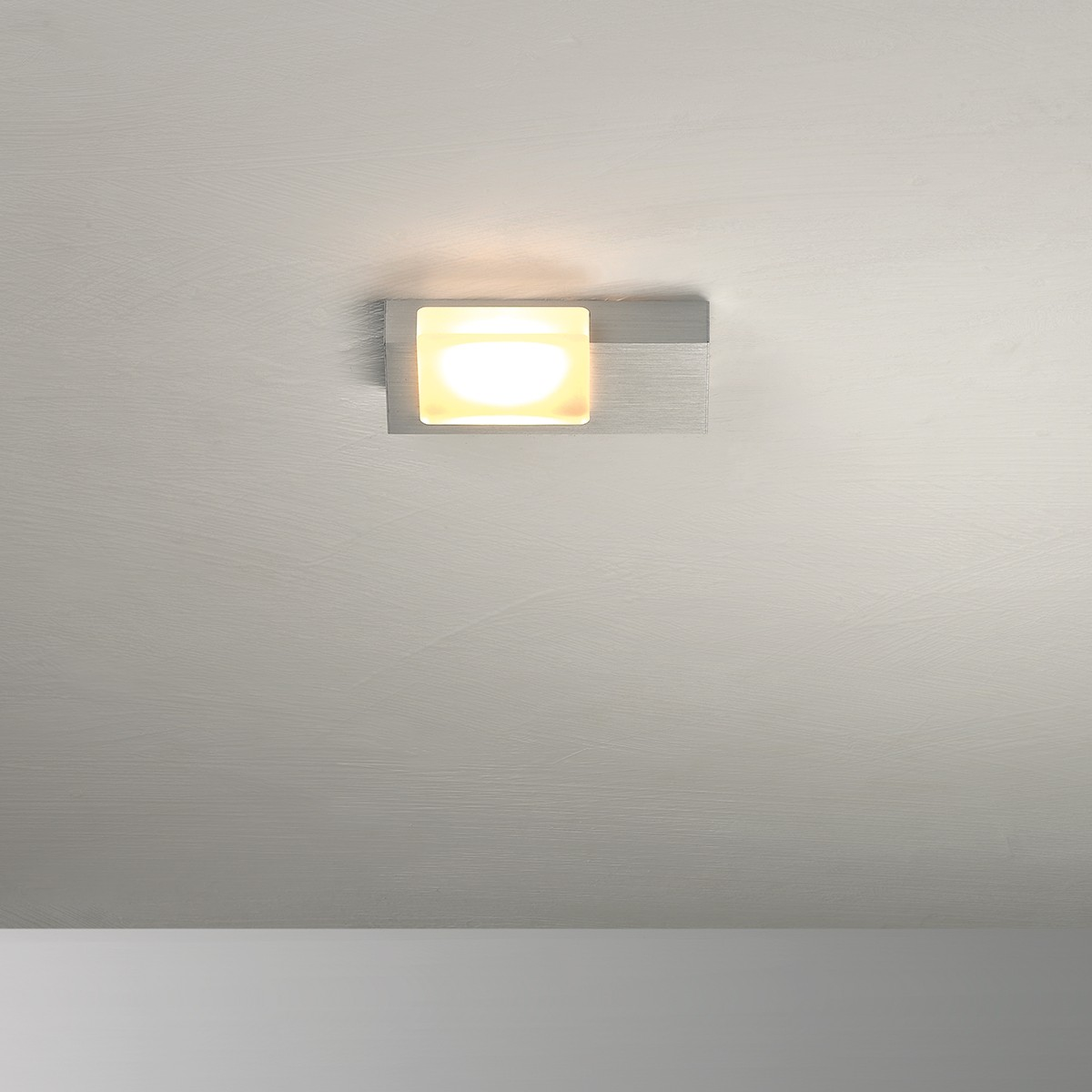 Bopp Lamina LED Deckenleuchte 1-flg., Aluminium geschliffen