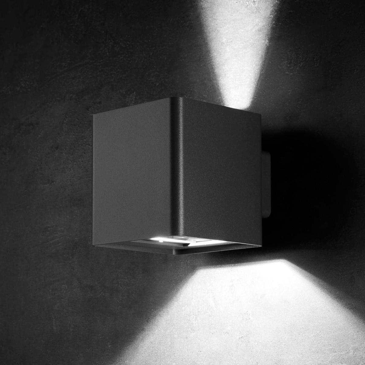 Lupia Licht Ouverture LED Außenwandleuchte, anthrazit