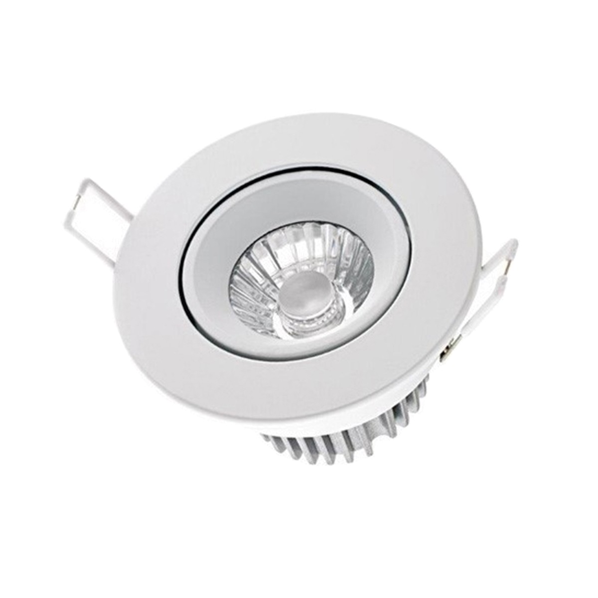 Sigor Haled LED Downlight Einbaustrahler, Dim-to-Warm, weiß