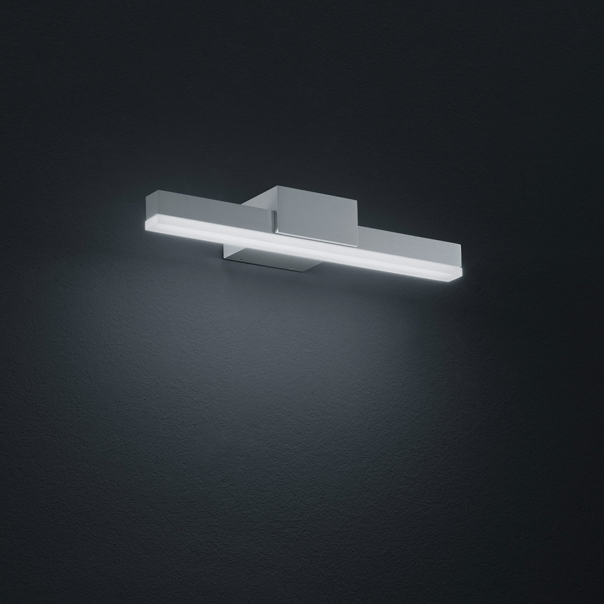 Helestra Ivy LED Wandleuchte, Breite: 30 cm, Aluminium matt