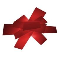 Big Bang Parete / Soffitto, rosso (rot)