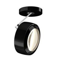 Più alto 3d Volt S80 Deckenstrahler, 2700 K, schwarz glänzend / Chrom