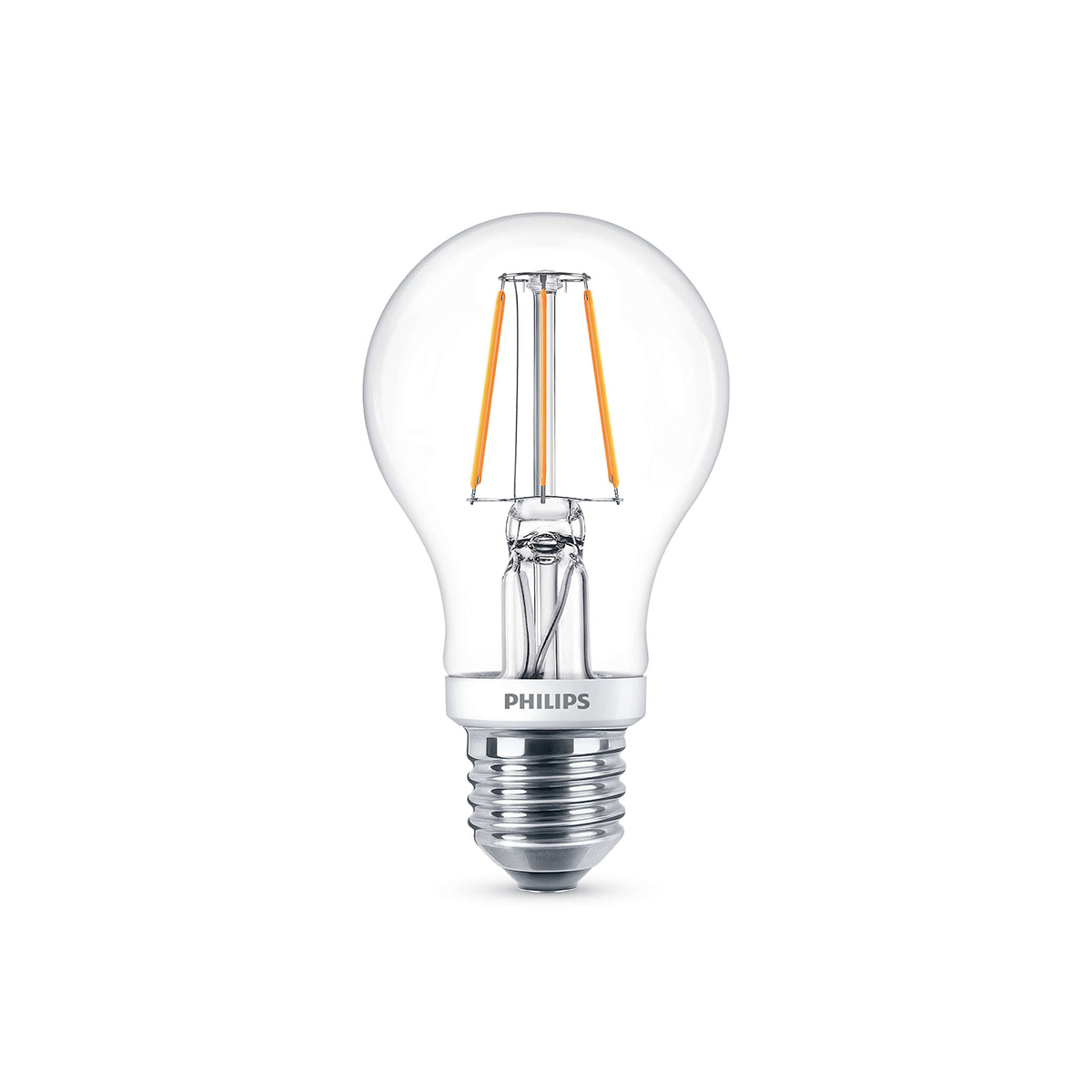 philips leuchtmittel led classic lampe e27 5 w warmwei dimmbar. Black Bedroom Furniture Sets. Home Design Ideas