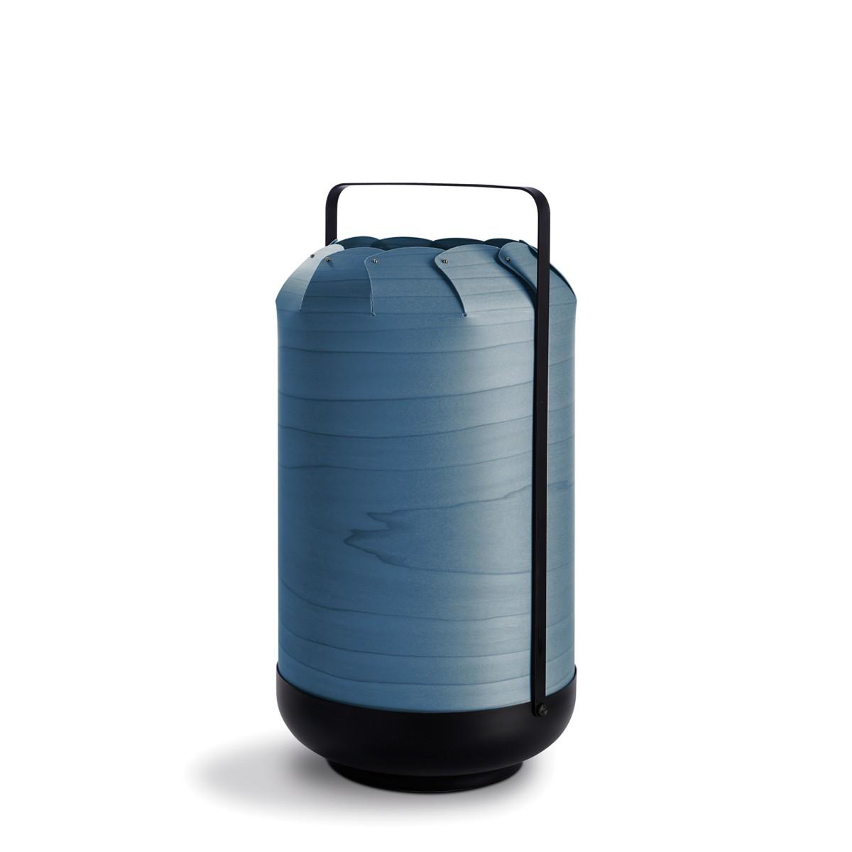 LZF Lamps Chou Tall Tischleuchte, blau