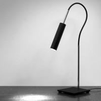 Lucenera 200 Tischleuchte, Halogen, schwarz, inkl. Leuchtmittel