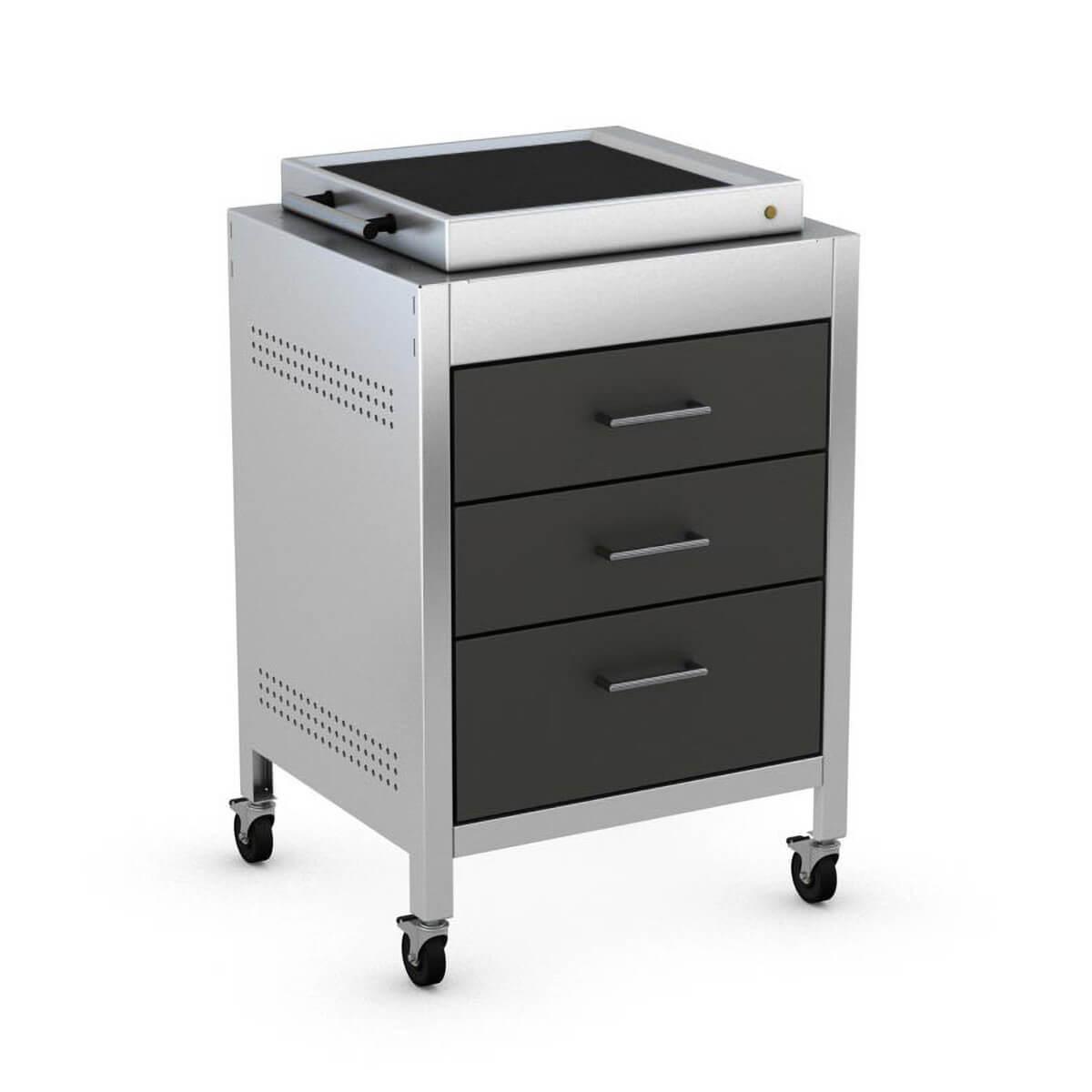 Heibi Outdoorküchen LeMax II Elektrogrill mit Schubladen-Modul 51250-050+800014