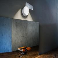 Pin-Up Wand- / Deckenleuchte, 3000 K, weiß matt