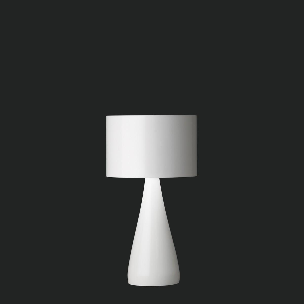 Vibia Jazz Mini 1332 Tischleuchte, weiß glänzend