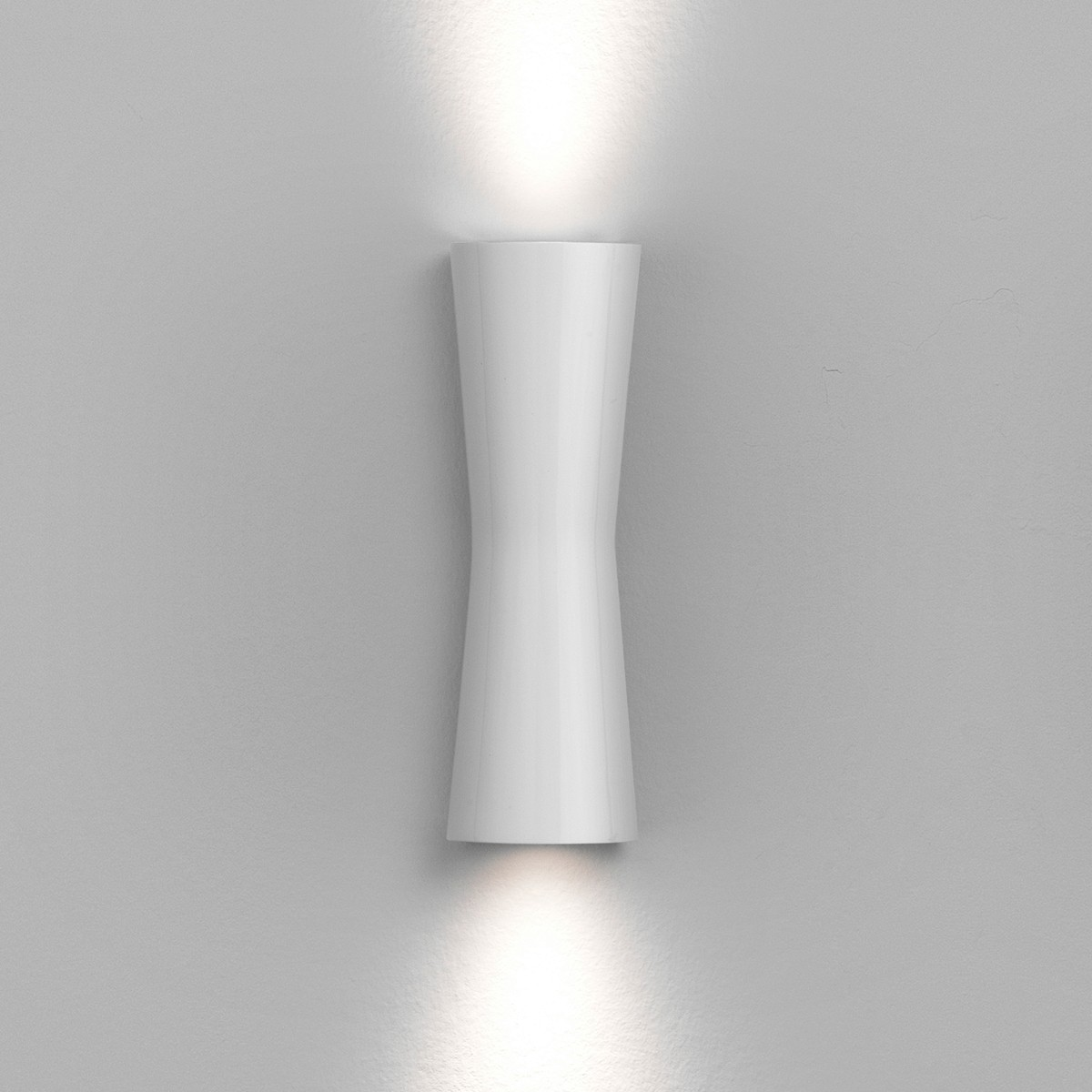 Flos Clessidra LED Wandleuchte, Abstrahlwinkel: 20°+20°, weiß