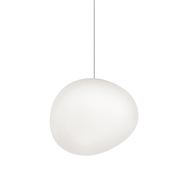 Foscarini Gregg Midi Sospensione LED, bianco (weiß)