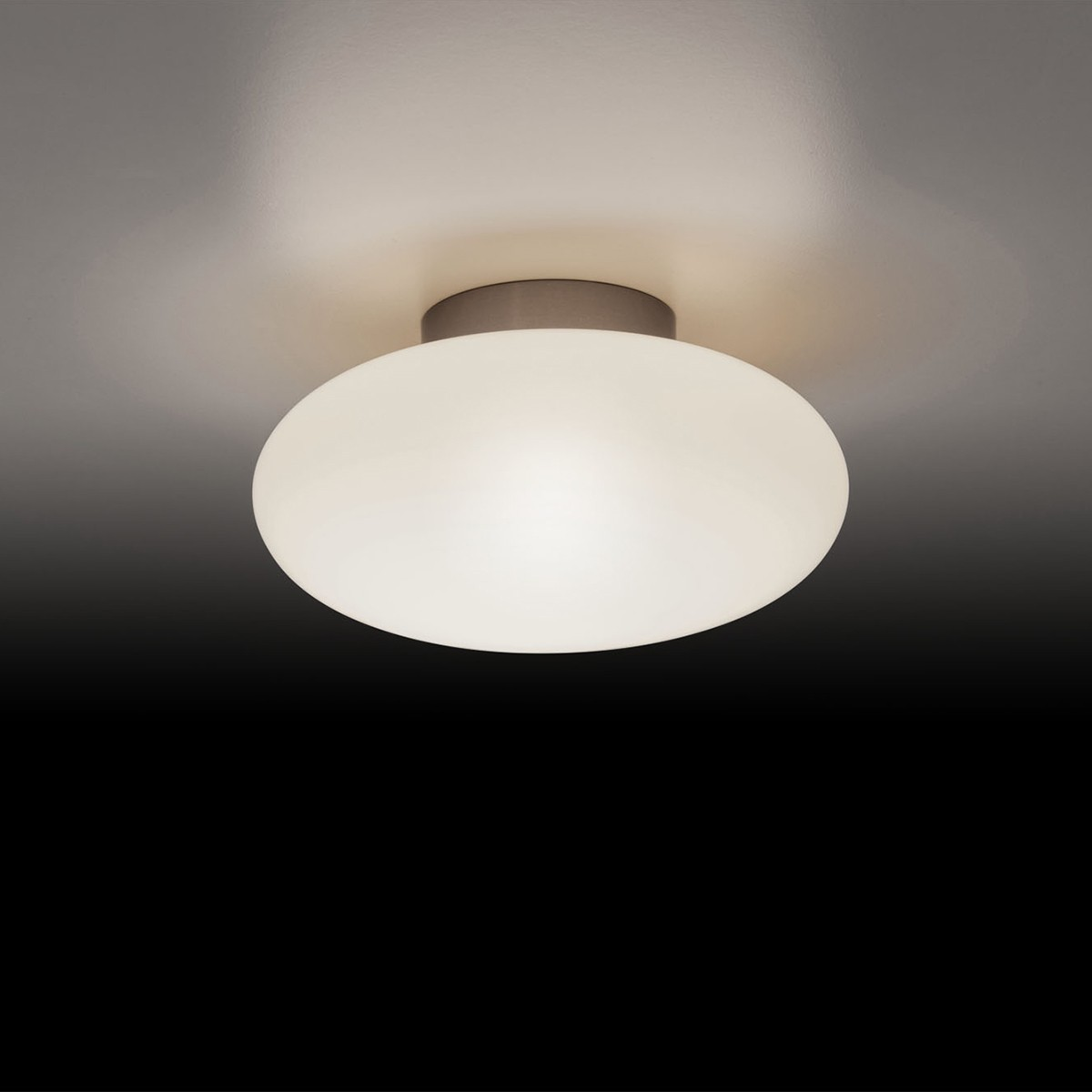 Holtkötter Leuchten Amor D Deckenleuchte LED, Nickel matt, Ø: 19 cm