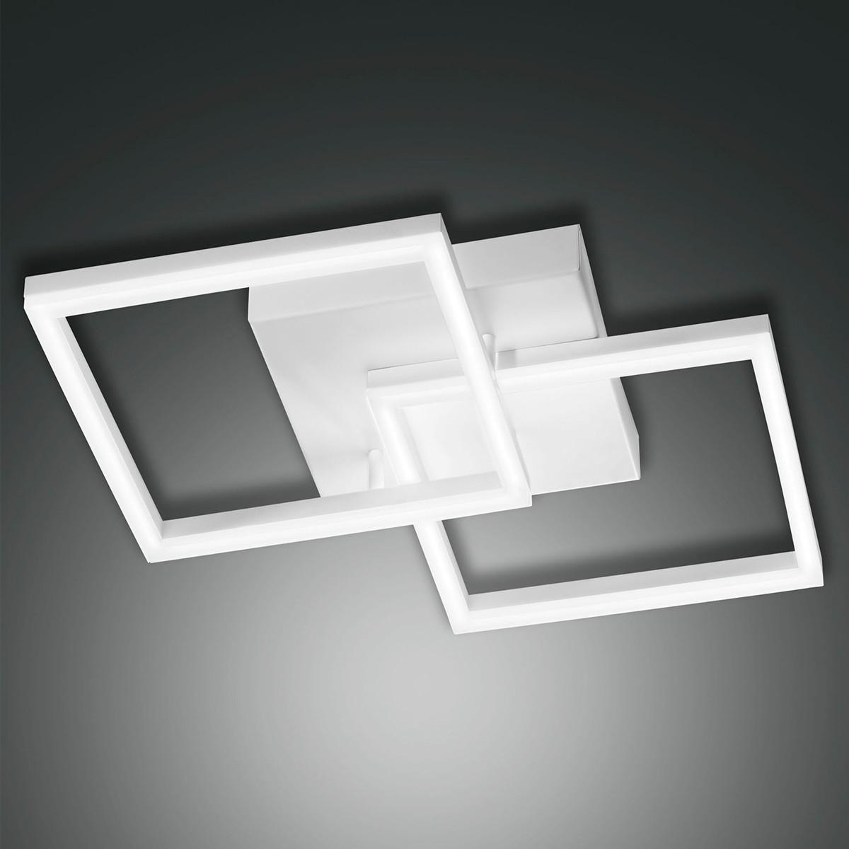 Fabas Luce Bard 3394-22 LED Wand- / Deckenleuchte, weiß