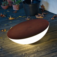 Foscarini Solar Outdoor Terra, marrone (braun)