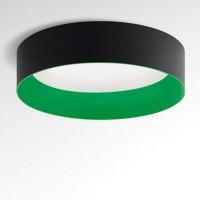 Tagora 970 Deckenleuchte, nicht dimmbar, schwarz - grün