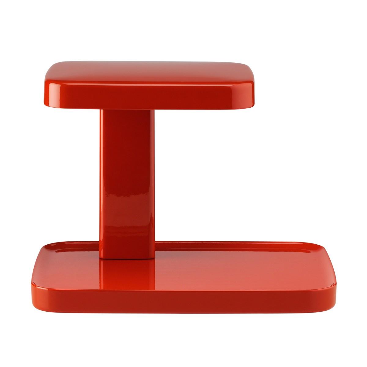Flos Piani Tischleuchte, rot