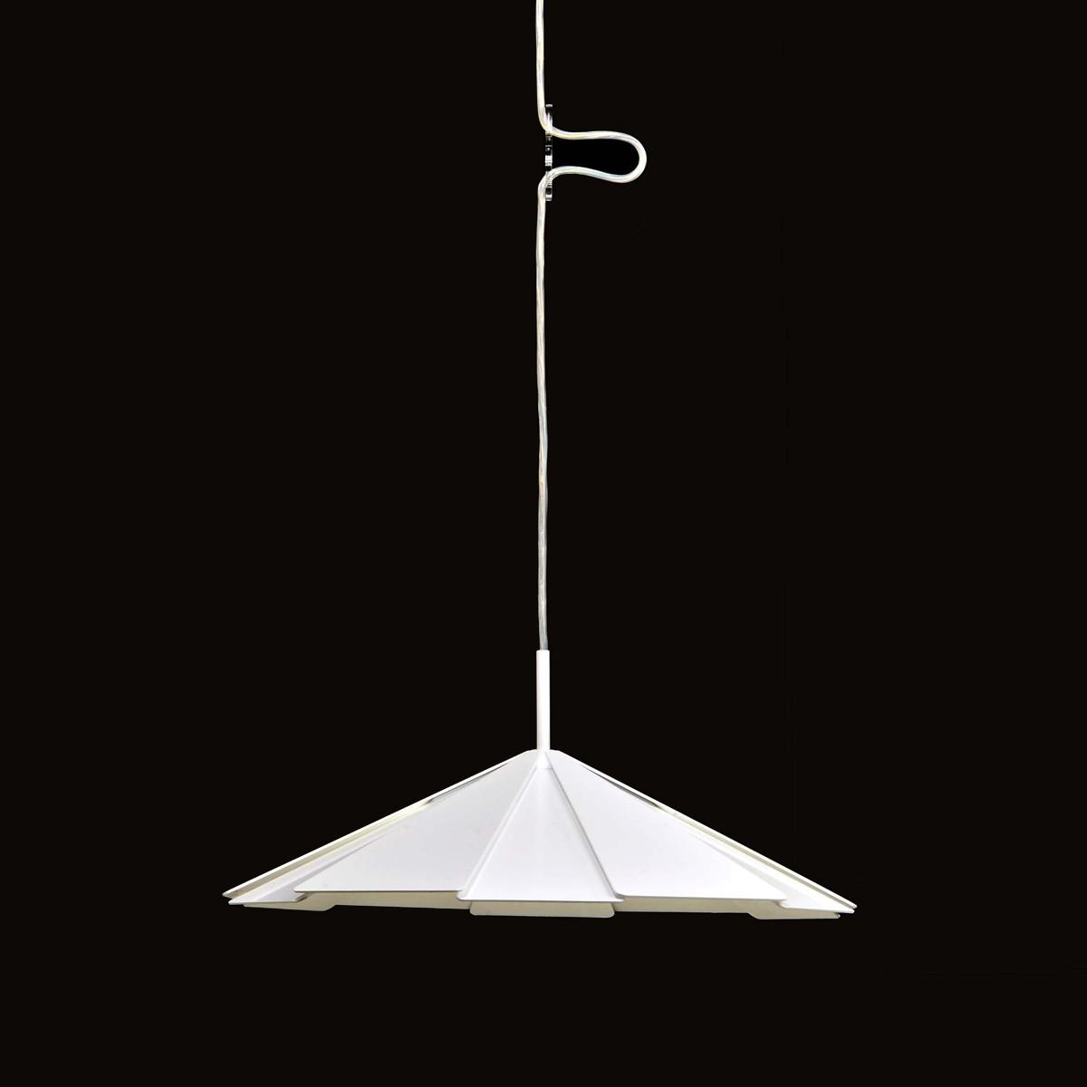 Milan Pam Pendelleuchte, Ø: 41,1 cm, weiß