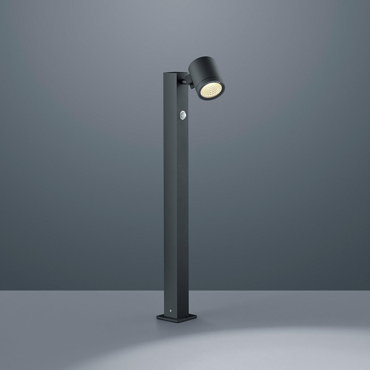Helestra Part LED Pollerleuchte, graphit