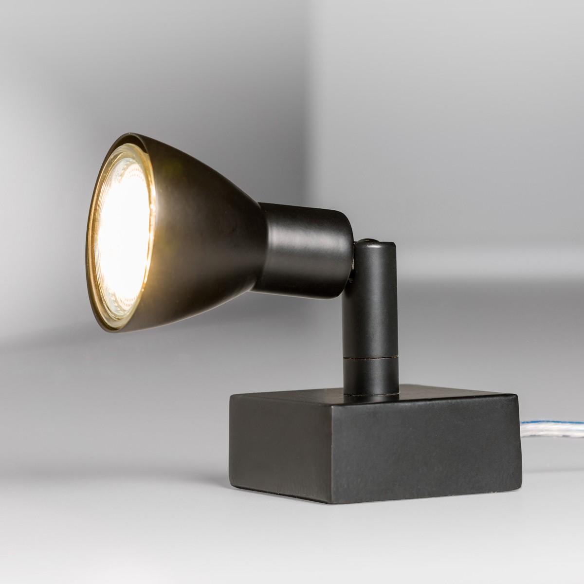 Lupia Licht Fari Tischleuchte, schwarz