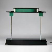 Artemide Pausania Tavolo LED TW, grün / Aluminium