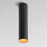 Tagora 80 Deckenleuchte, schwarz - orange