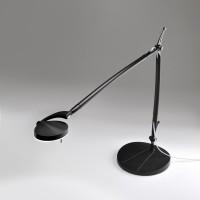 Perceval LED Tischleuchte, schwarz lackiert