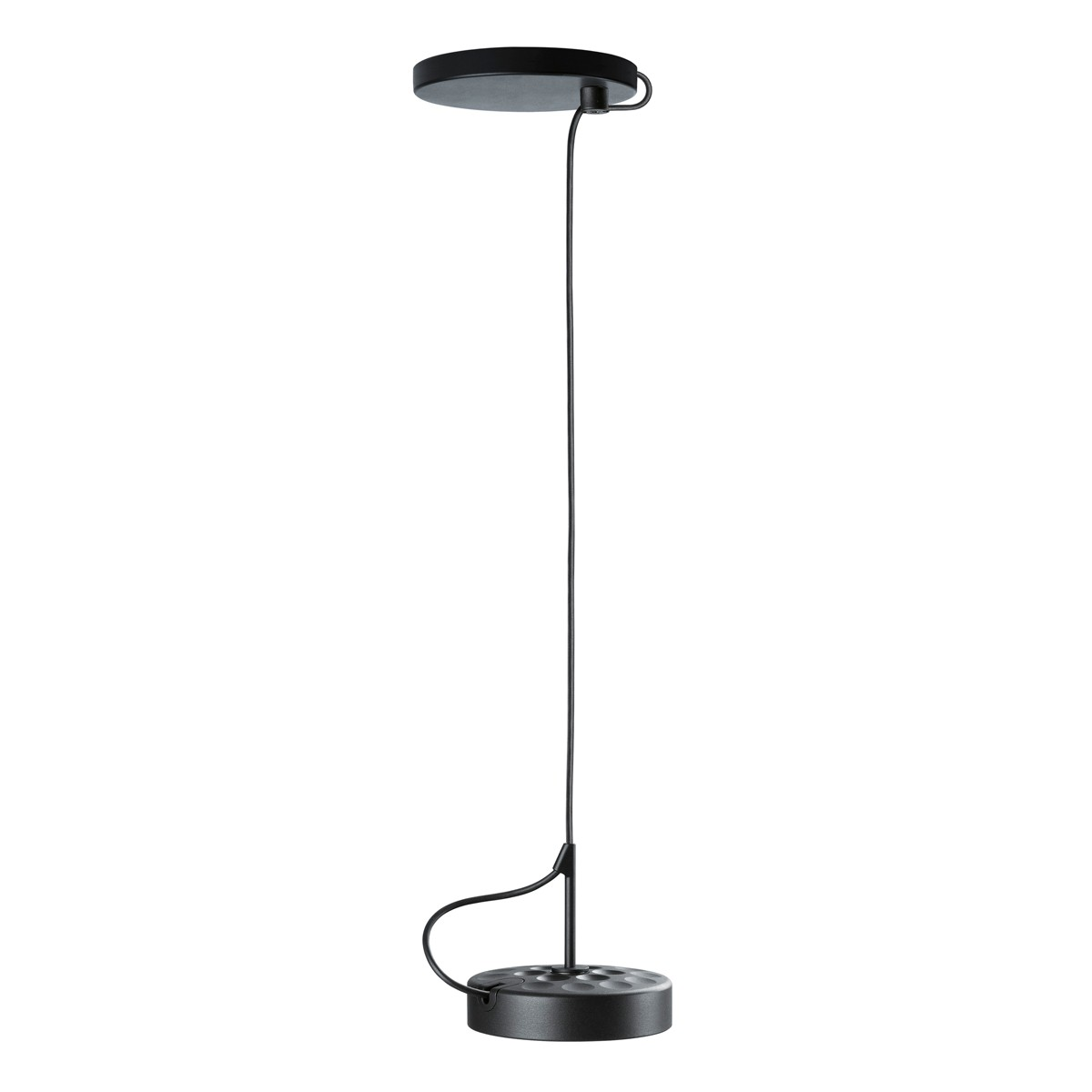 Belux U-Turn-34 LED Pendelleuchte, On/Off, schwarz