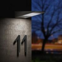 CMD Leuchten 9019 LED Solarwandleuchte, anthrazit