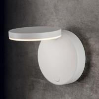 Holtkötter Plano WD LED Wandleuchte, mit Tastdimmer, Strukturweiß