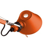 Tolomeo Micro Tavolo Halo, orange