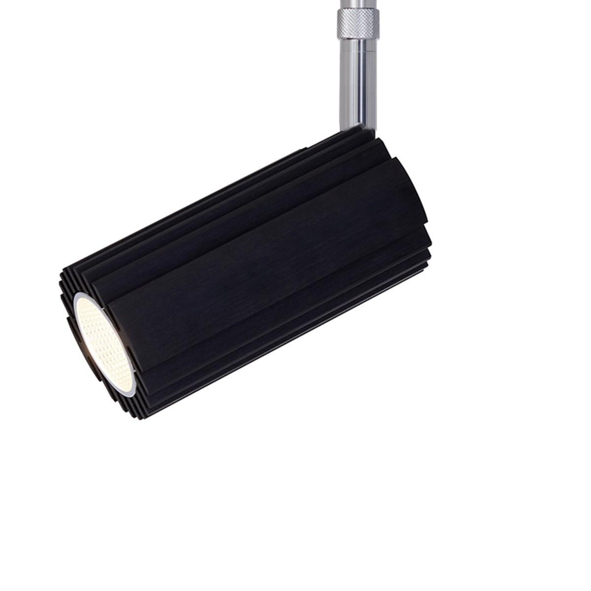 Oligo PHASE Ridge Max LED Strahler, 3000K, Stange: Chrom, Korpus: schwarz matt