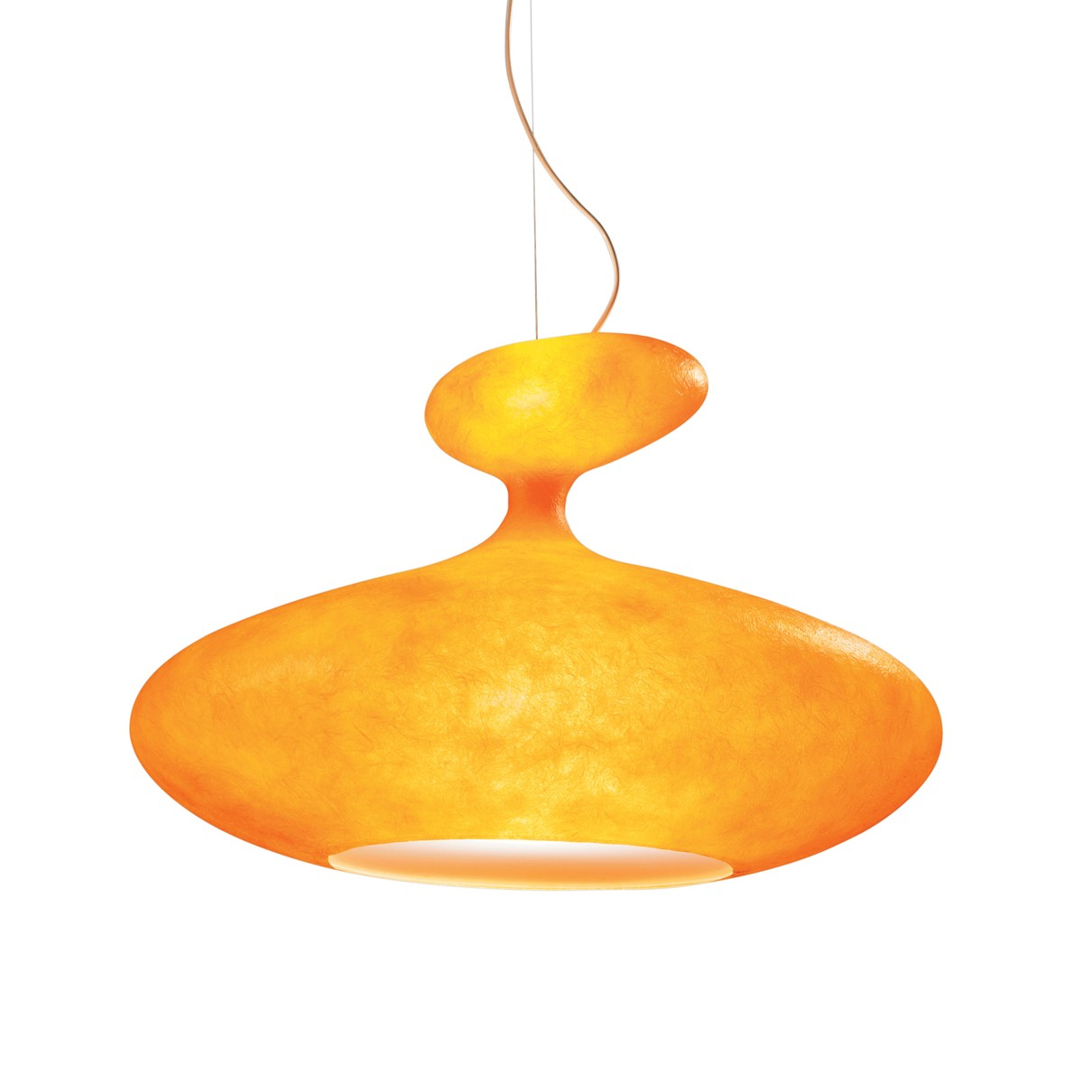 Kundalini E.T.A. Sat Pendelleuchte, orange