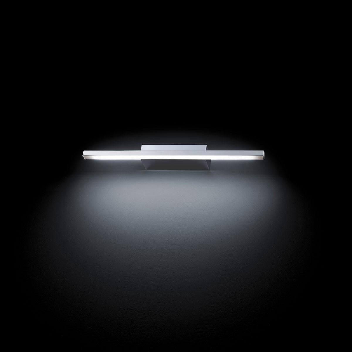 Grossmann Forte LED Wandleuchte, Länge: 49,4 cm, Chrom