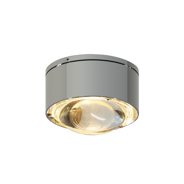 Top Light Puk One 2 LED Deckenleuchte, Chrom, Linse klar