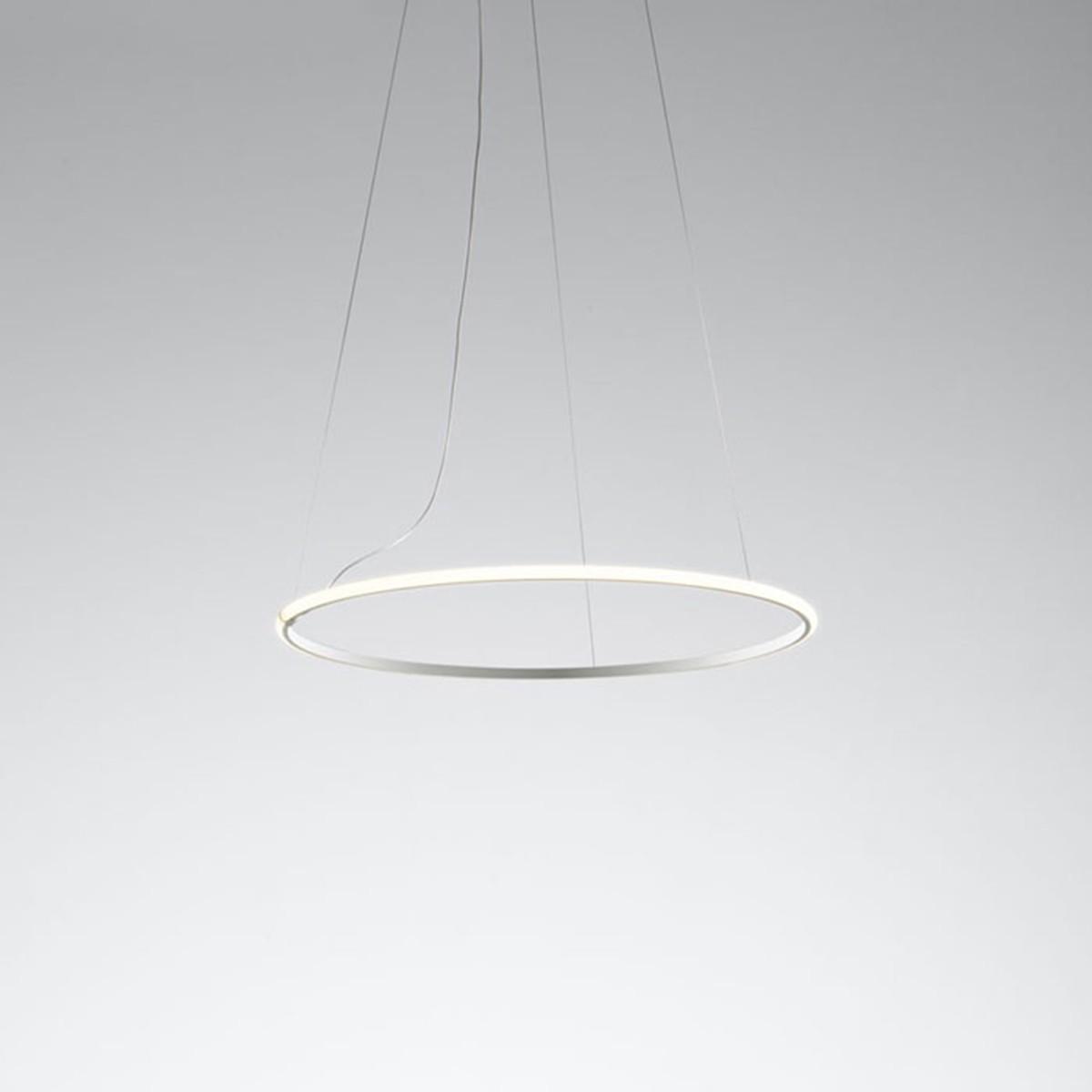 Fabbian Olympic Pendelleuchte, 1-flg., Ø: 80,2 cm, weiß