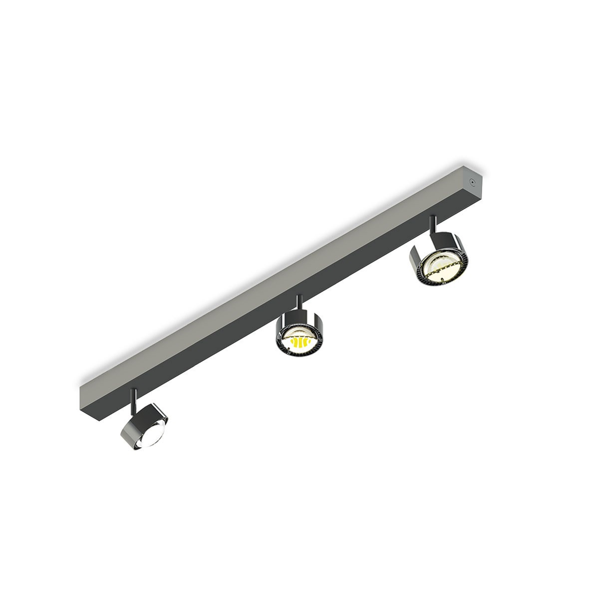 Top Light Puk Choice Turn Deckenleuchte, 85 cm