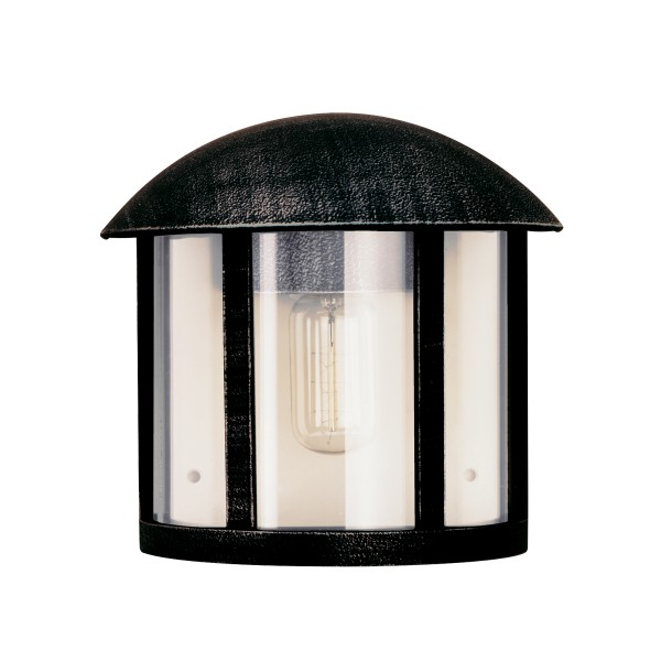 Albert Leuchten 3225 Außenwandleuchte, schwarz-silber