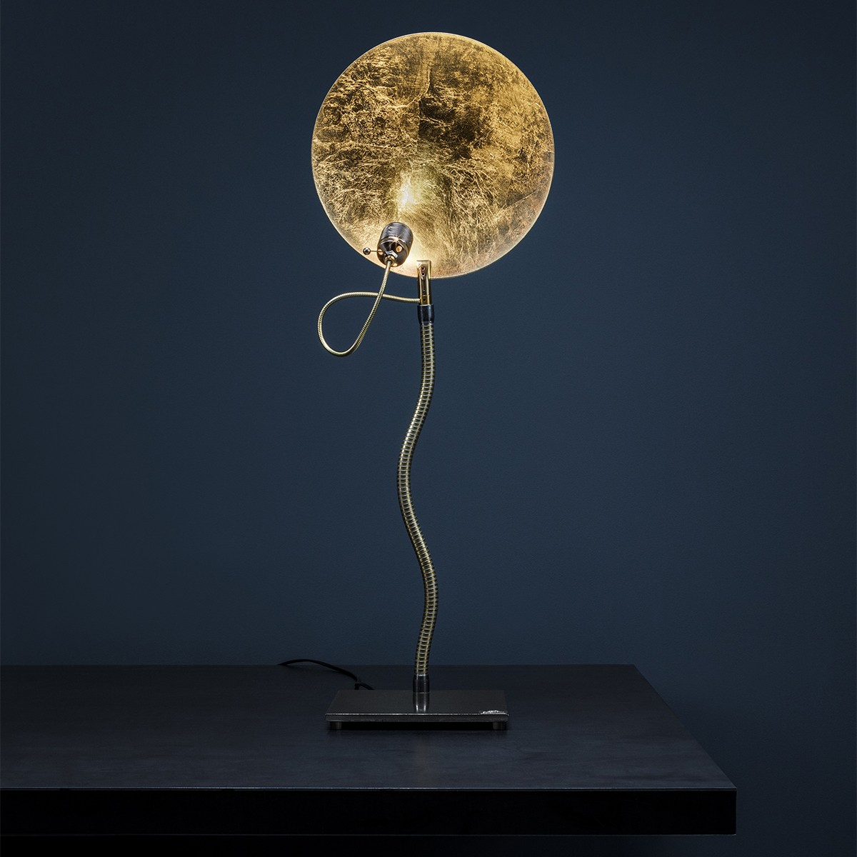 Catellani & Smith Luce d'Oro T Tischleuchte, Ø: 30 cm, Gold