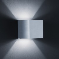Siri Wandleuchte, Aluminium matt