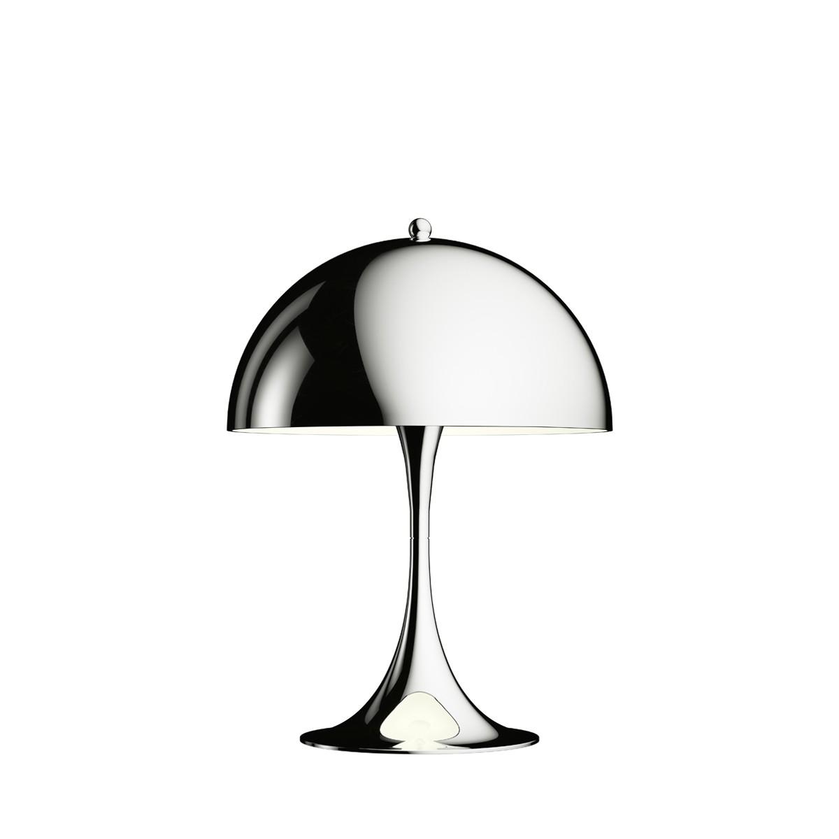 Louis Poulsen Panthella Mini LED Tischleuchte, Chrom