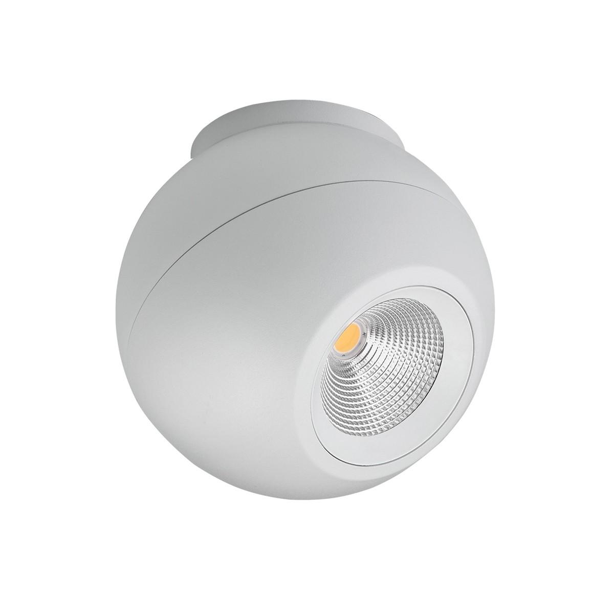 Lumexx Globe LED Deckenleuchte, weiß