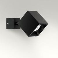 Dau Spot LED Wand- / Deckenstrahler, schwarz gebürstet
