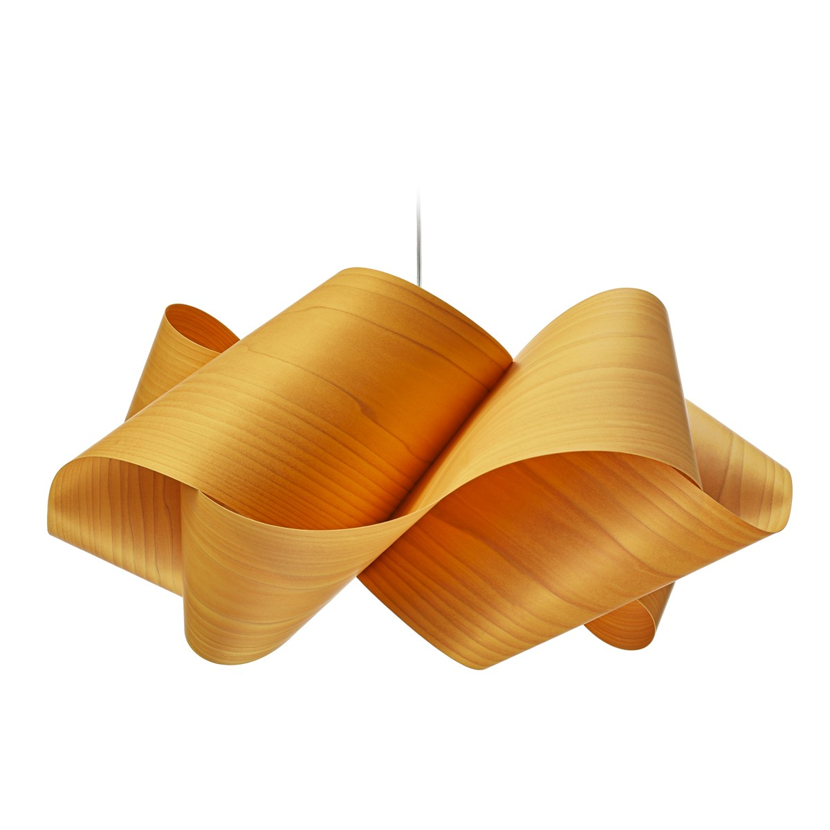 LZF Lamps Swirl Large Pendelleuchte, gelb