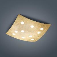 Alia Deckenleuchte, 38 x 38 cm, Gold matt
